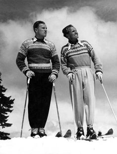 can you imagine wearing this today, to ski in Vail??