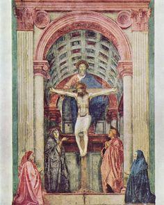 Historia del Arte: La Trinidad. Masaccio. Arte del Renacimiento.