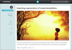 Storybird - Free online tool to create, read, and share visual stories. Amazing resource for teachers!