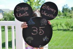 9 Disney countdown tutorials from @Design Hub Turk TipJunkie.com