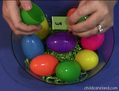Paint Chip Sight Word Eggs - Pinned by @PediaStaff – Please Visit  ht.ly/63sNt for all our pediatric therapy pins