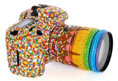 Rainbow Sprinkles camera by PJ Linden - love this!