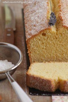 Cake alle mandorle, lavanda e limoncello