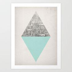 Diamond Art Print by David Fleck - $18.00