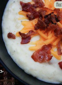 baked potatoes, loaded baked potato soup, supper, bake potato, crockpot soup recipes, best soup recipes, crockpot recipes soup, potatoe soup