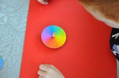 Giocare con i colori: la trottola cromatica