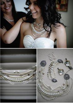 Wedding Pearls necklace