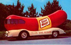 oscar mayer weiner car, memori, blast, wheel, rememb, mobiles, weinermobil, mayer wiener, weiner mobil