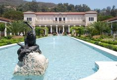 The Getty Villa - Malibu, CA.