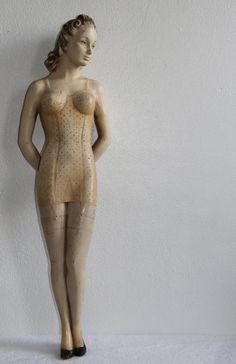 1920's counter-top display mannequin
