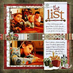 Kelly Goree's Gallery: *The Gift* - Scrapbook.com Wassail Kit!!