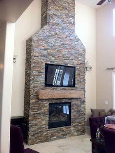 BuildDirect: Stone Siding Natural Ledge Stone   Slate   California Gold