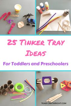 25 Tinker Tray Ideas