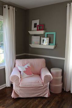 vintage ginger peaches: Baby Girl Nursery