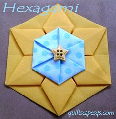 Hexagami ~ Dimensional Hexagons! (Two techniques)