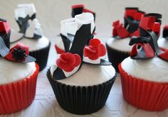 Pretty High Heels Cupcakes Picture