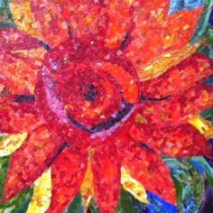 "My mosaic design 27""x30"""