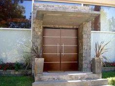 Fotos de puertas de aluminio modernas