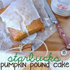 Starbucks Pumpkin Pound Cake Recipe - ZipList