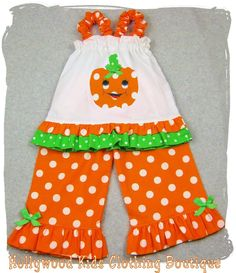 Custom Made Outfits For Girls | Handmade Cute Little Newborn Infant Toddler Baby Girl Clothes Clothing ...