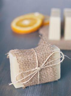 Orange Tea Tree Soap Recipe