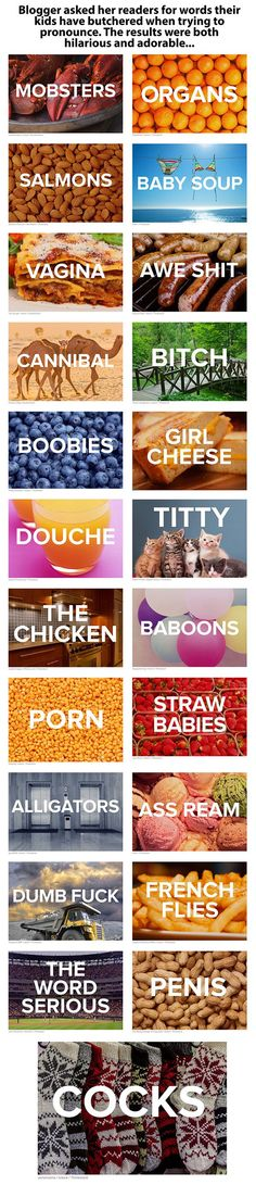 23 Hilariously Mispronounced Words By Toddlers
