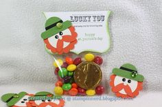 Stampin' Up! Treat Bag  by Janet at Stampin Nerd: Are you ready for St. Patty's Day?