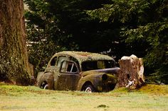Old Rusty Car by Steve G. Bisig, via Flickr