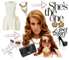 """Lana Del Rey - She's the One"" by latoyacl on Polyvore"