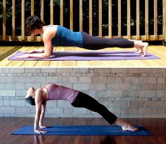 7 Variations of Plank to Strengthen Abs and Upper Body. One for everyday!