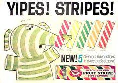 Beech-Nut Fruit Striped Gum