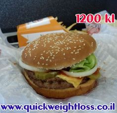 How many calories in a burger, fries and coke?