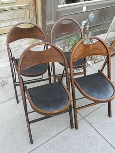 stackmore oak fold chair