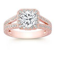 rose gold ring. Love it // MJM