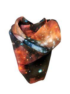 NASA scarf.