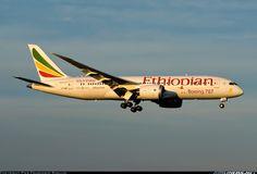 Boeing 787-8 Dreamliner Ethiopian..