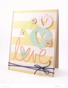 LOVE card by charimoss at @Studio_Calico #SCsugarrush