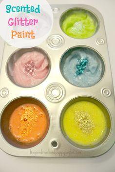3 ingredient sensory paint