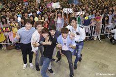 beauti hi5, 2pm met, japan, hi5 event, fans