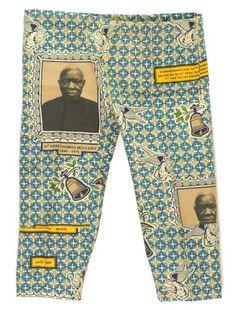 African portrait cloth.