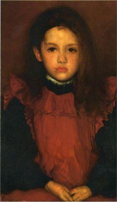 The Little Rose of Lyme Regis, 1895  James McNeill Whistler