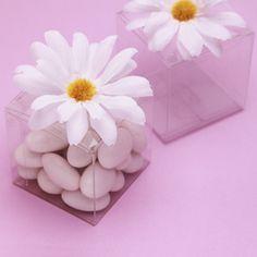 Daisy Wedding Favor Boxes