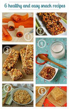 Healthy and easy snack recipes | www.yankeekitchenninja.com