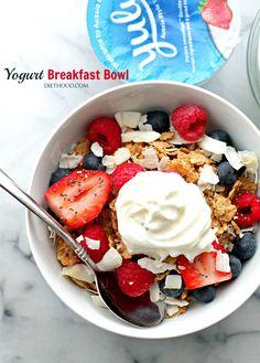 Yogurt Breakfast Bow