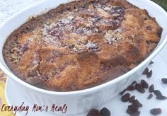 ~Baked Cranberry~ A new twist on cranberry sauce, this delicious warm casserole makes a great side dish, dessert or breakfast the next morning.