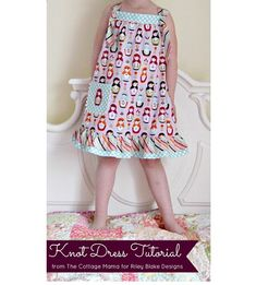Free pattern: Knot Dress for little girls · Sewing | CraftGossip.com