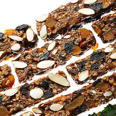 No-bake Chewy Fruit and Nut Bars | MyRecipes.com