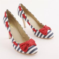 Cute nautical shoes