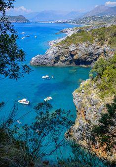 Tyrrhenian Sea, San Nicola Arcella, Calabria, Italy