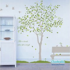 Tree Vinyl Wall Decals wall sticker kids wall decal by ChinStudio, $68.00